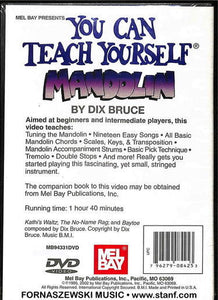 Mel Bay - You Can Teach Yourself - Mandolin