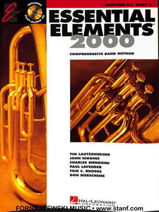 Essential Elements 2000 Book 2 - Baritone B.C. - Fornaszewski Music Store, Granite City IL 62040 - www.stanf.com