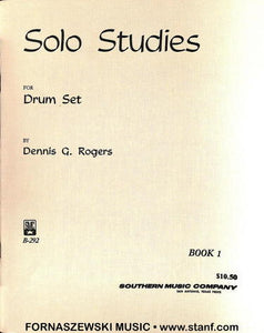 Rogers - Solo Studies For Drumset - Book 1 - Fornaszewski Music Store, Granite City IL 62040 - www.stanf.com