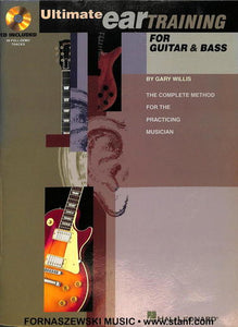 Hal Leonard - Ultimate Ear Training for Guitar & Bass - Fornaszewski Music Store, Granite City IL 62040 - www.stanf.com