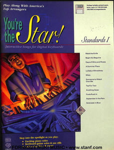 You're The Star - Standards I - Piano Vocal Guitar - Fornaszewski Music Store, Granite City IL 62040 - www.stanf.com