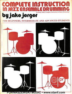 Jerger - Complete Instruction In Jazz Ensemble Drumming - Fornaszewski Music Store, Granite City IL 62040 - www.stanf.com