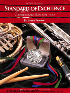 Standard Of Excellence Book 1 - Bb Clarinet - Fornaszewski Music Store, Granite City IL 62040 - www.stanf.com