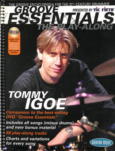 Tommy Igoe - Grove Essentials - Drumset Play-Along - Fornaszewski Music Store, Granite City IL 62040 - www.stanf.com