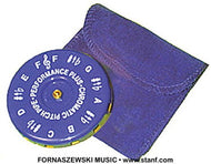 Performance Plus CP-F Vocal Chromatic F to F Pitch Pipe with Velvet Bag - Fornaszewski Music Store, Granite City IL 62040 - www.stanf.com