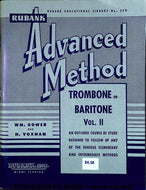 Rubank Advanced Method - Trombone Baritone Book Vol 2 - Fornaszewski Music Store, Granite City IL 62040 - www.stanf.com