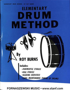Roy Burns - Elementary Drum Method - Fornaszewski Music Store, Granite City IL 62040 - www.stanf.com