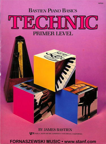 Bastien Piano Basics Technic - Primer Level - Fornaszewski Music Store, Granite City IL 62040 - www.stanf.com