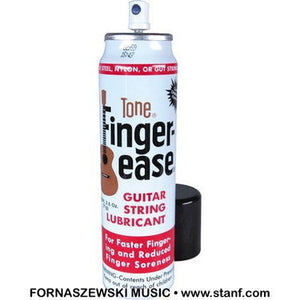 Tone - Finger-ease - Guitar String Lubricant - for all strings - Fornaszewski Music Store, Granite City IL 62040 - www.stanf.com