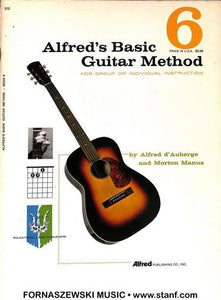 Alfred's Basic Guitar Method - Book 6 - Fornaszewski Music Store, Granite City IL 62040 - www.stanf.com