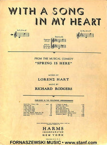 Hart Rodgers - With A Song In My Heart - Fornaszewski Music Store, Granite City IL 62040 - www.stanf.com