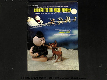Songs From Rudolph The Red Nosed Reindeer - All Organ - Fornaszewski Music Store, Granite City IL 62040 - www.stanf.com