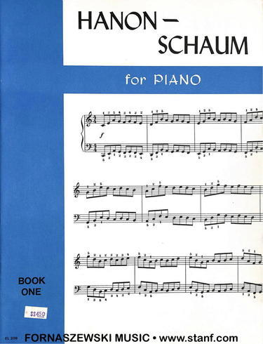 Hanon - Schaum For Piano - Book 1 - Fornaszewski Music Store, Granite City IL 62040 - www.stanf.com