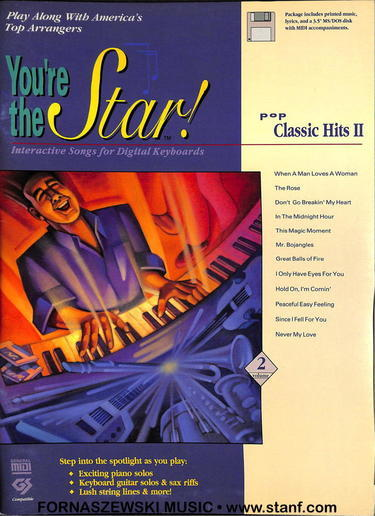 You're The Star -Pop Classic Hits II - Piano Vocal Guitar - Fornaszewski Music Store, Granite City IL 62040 - www.stanf.com