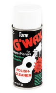 Tone - G'wax - Polish Cleaner for Guitars / Pianos / Fine Instruments - Fornaszewski Music Store, Granite City IL 62040 - www.stanf.com