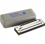 10 Hole Single Row - Special 20 - Hohner (Germany) Harmonica - Key of C (Country) - Fornaszewski Music Store, Granite City IL 62040 - www.stanf.com