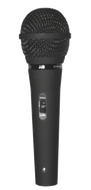 FM - HiZ/LoZ Dual Impedance - Cardioid Dynamic Vocal Microphone w/ On/Off Switch and Cable