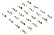 Standard Pickguard Screws Chrome 12-pack