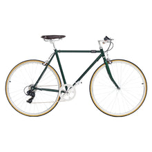 Load image into Gallery viewer, Retro Steel frame road bike   700C Fixed Gear bike Track 7 speeds Bike 48cm 52cm  fixie bike vintage DIY frame