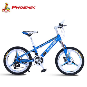 Phoenix Bicycle 20/22 in Children's Students Kids spokes and integrated Bicycles 21 speed High-Carbon Steel Sport Cycling Bike