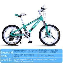 Load image into Gallery viewer, Phoenix Bicycle 20/22 in Children's Students Kids spokes and integrated Bicycles 21 speed High-Carbon Steel Sport Cycling Bike