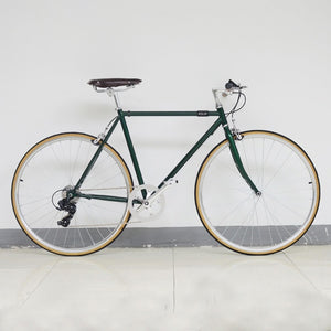 Retro Steel frame road bike   700C Fixed Gear bike Track 7 speeds Bike 48cm 52cm  fixie bike vintage DIY frame