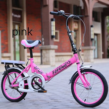 Load image into Gallery viewer, k9 2019 New 20-inch folding bicycle for adults Ultra-light-speed portable children bicycle for boys and girls