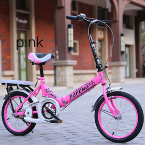 k9 2019 New 20-inch folding bicycle for adults Ultra-light-speed portable children bicycle for boys and girls