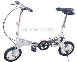 13% To Singapore Japan asian free !! 12'' inch mini folding bicycle/folding bike  the special gift/ various color /portable bike