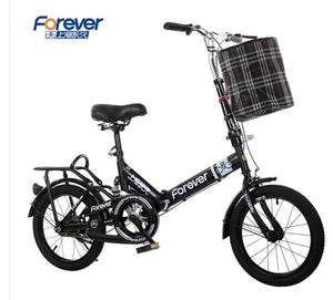 [TB01]20 inch folding bicycle bicycle shock absorber bicycle men and women student car leisure bicycle