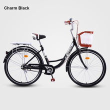 Load image into Gallery viewer, 20/24/26 Inches Retro Fixed Gear Bike Handy Commuting Travel Adult Bicycle Lady Student Men And Women