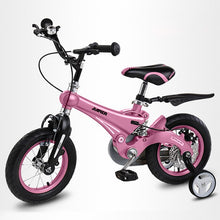 Load image into Gallery viewer, New kids bike Children bicycle gift for children light boys and girls bike magnesium alloy with Training Wheels children bike