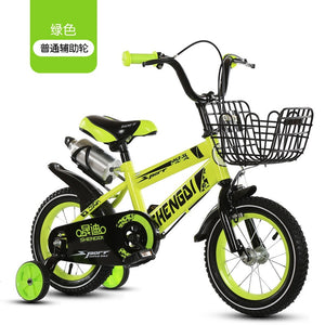 Children's bicycle 12 inch girl baby bicycle 2-4 years old child girl baby carriage