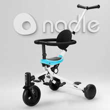Load image into Gallery viewer, Children Tricycle 3 wheel kid bike 1-6 years baby trolley bike multi function two way folding baby kid bicycle children bicycle