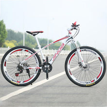 Load image into Gallery viewer, The new advanced Aluminum Alloy material 26 inch 21 speed steel 40 knife Straight handlebar Cycling factory mountain bik