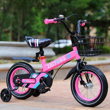 Load image into Gallery viewer, Children's bicycle 12/14/16 inch kids bike Boys and girls bicycle student cycling bike  multicolor optional bicycle