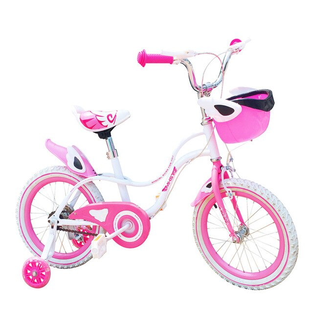 2-4 years oldChild's Bike Cycling Kid's Bicycle With Safety Protective Steel 16- inch Children Bikes Free shipping girls