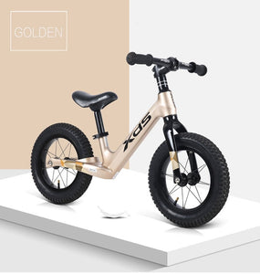 XDS Children Balance Baby Bike Kids Bicycle Ride on Toys No-Pedal 2-7 Year Old Beginners Ski glissade run slide glide Car Riding