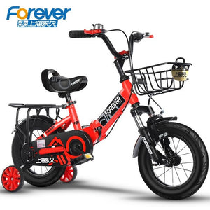Permanent Children's Bicycle Girls'bicycle Babies' Bicycle 2-4 Years Old Boys'bicycle Folding 3