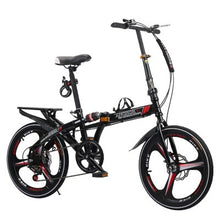 Load image into Gallery viewer, New Brand Man's BMX Bike 20 inch Wheel Carbon Steel Frame Soft-Tail Disc Brake Folding Bicicleta Children Lady's Bicycle