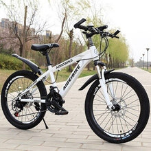Load image into Gallery viewer, Student Adult Bicycle 24 Speed Two Disc Brake Shock Absorber 26 Inch Mountain Bike