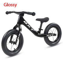 Load image into Gallery viewer, BXT 12inch Carbon fiber Frame Children Bicycle carbon Kids balance Bicycle For 2~6 Years Old Child carbon complete bike for kids