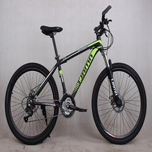Load image into Gallery viewer, 2019 New High Quality Bicyle Carbon Steel Material 21 Speed 26 Inch Spring Fork Cycling Equipment Manufacturer Mountain Bike