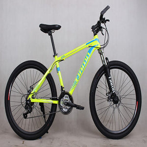 2019 New High Quality Bicyle Carbon Steel Material 21 Speed 26 Inch Spring Fork Cycling Equipment Manufacturer Mountain Bike