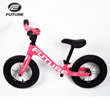 Load image into Gallery viewer, Future 2019 children's balance bicycle Full carbon fiber Suitable for children2-6years old/height 80-130 cm bicycle is less 3kg