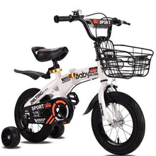 Load image into Gallery viewer, Kid Folding Bicycles12/14/16/18 Inch Portable for Boys and Girls Cycling Light Students Bike Children's Gift