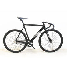 Load image into Gallery viewer, Fixed Gear Bike Urban Track Bike Fixie Carbon Fiber Fork Commute Bike 40mm rim  road bike T2 fixie bicycle