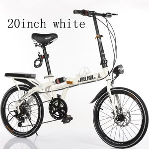 k2 2019 New16 inch and 20-inch folding bicycle for adults Ultra-light-speed portable children bicycle for boys and girls