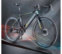 Load image into Gallery viewer, bicicleta road bike   700C*23  road  bicycle man& woman bike  27  speed   Disc  brakes