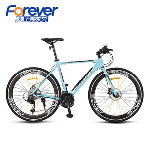 Road Bike Bicycle Racing Men 700C Aluminum Alloy Adult Ultra Light Bend To Adult